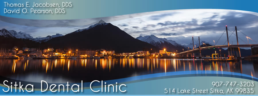 Sitka AK dentist Thomas E. Jacobsen DDS general dentistry in Alaska